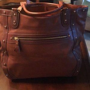 Cole Haan Paige British Tan Handbag
